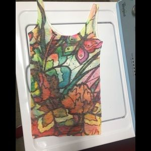 Colorful tank top